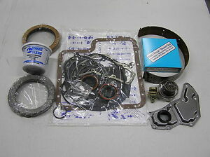 Ford C6 Automatic Transmission Deluxe Rebuild Kit 1968 1972