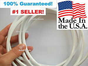 Trim Molding Made In The Usa Car Truck Suv Door Edge Guards Gloss White