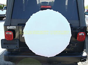 2 Snow Camo Hummer Spare Tire Cover 4x4 Willys Arctic Alice Pack Cover New