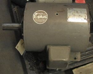 15hp 3 phase S254t Frame Electric Motor 230 460 1750rpm