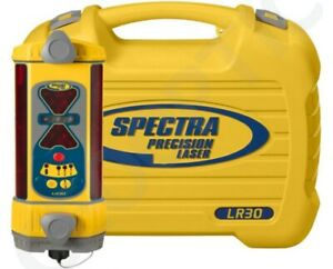 Spectra Lr30 1 Machine Control 360 Degrees Laser Receiver Hard Carry Case