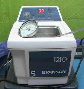 Bransonic 1210 Prof Heated Ultrasonic Bath Cleaner