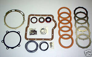 Fordomatic Two Speed Transmission Rebuild Kit 1959 1964