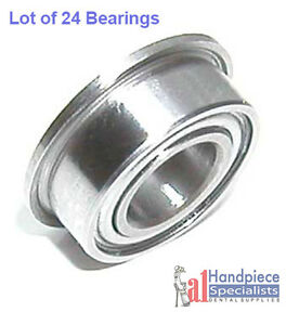 Flanged Dental Bearing For Midwest Turbine Lot Of 24