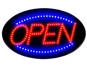 Ultra Bright Led Neon Light Animated Motion With On off Open Business Sign S30