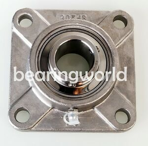 2 Stainless Steel 4 bolt Flange Bearing Sucsf210 32 Ucf210 32