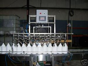 8 Head Overflow Filler Automatic Bottling Machine