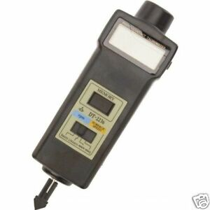Digital Tachometer laser Type photo Contact rpm M min