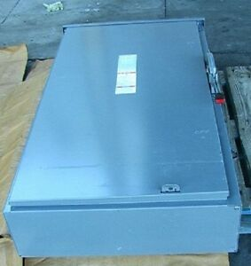 Nib Square D Outdoor Disconnect Switch 400 Amp 600vac 3