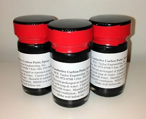 Conductive Carbon Paint 3ea 30 Grams spray Formula