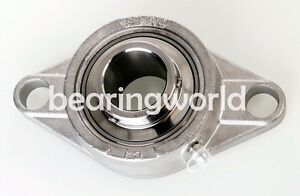 1 1 2 Stainless Steel 2 Bolt Flange Bearing Sucsfl208 24 Mucfl208 24
