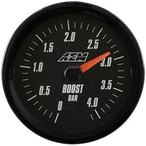 Aem Analog Turbo Boost Gauge 4 1bar 30 5137mb
