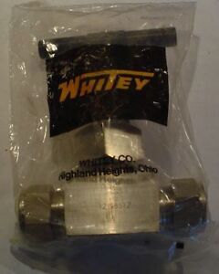 Toggle Valve Stainless Steel 3 8 In Whitey 1gs6 X316