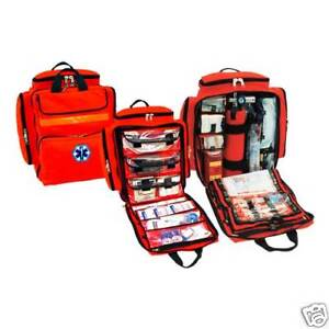Mega Trauma Pack Paramedic emt Backpack Bag Orange