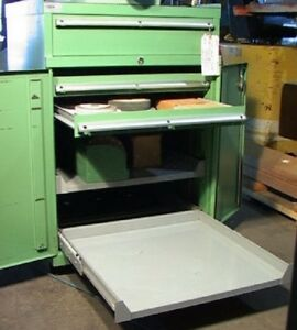 3 drawer 2 shelf Bench top Type Lista Tooling Cabinet