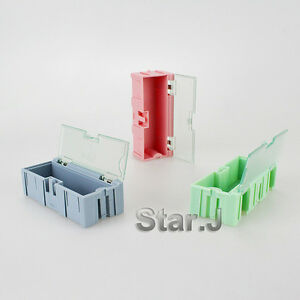Electronic Case Kit Components Storage Boxes Containers
