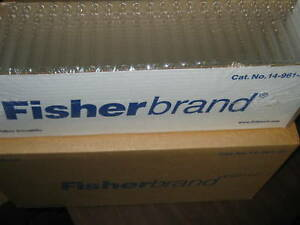 Fisherbrand Disposable Culture Tubes Cat no 14 961 29