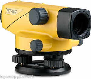 Topcon At b4 Automatic 24x Auto Level Surveying 60909 2nd Day Air Plus Tripod