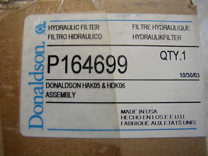 Donaldson P164699 Hydraulic Filter