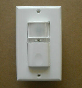 Vacancy manual on Occupancy Wall Motion Sensor Detector Switch Led Night Light