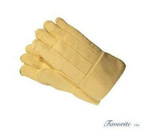 Kevlar Hi heat Resistant Gloves Furnace 14 Long Pair High Heat 800 Degrees