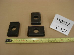 Machinist Step Clamp Backup Plates Lot Of 16 Z157