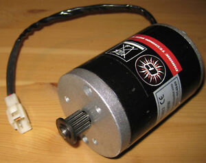 Currie Technologies Scooter Motor 24v Dc 135w My6812 3000 Rpm
