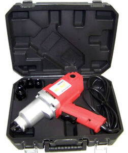2 New 1 2 Electric Impact Wrench Tools Ul Listed Red