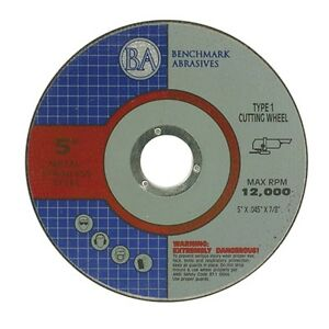 100 Pack 5 x 045 x7 8 Professional Metal Steel Cutting Disc Cutoff Wheel