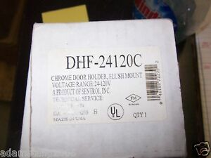 New Sentrol Dhf 24120c Chrome Door Holder