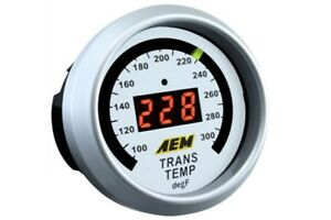 Aem Gauge Kit Digital Trans Temp 100 To 300 F 30 4402