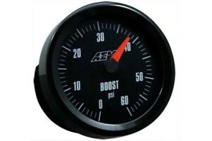 Aem Gauge Kit Analog Turbo Boost 0 To 60psi 30 5137