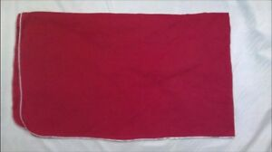Cotton Red Fender Cover 35x59 Made In The Usa