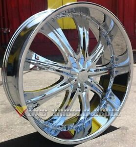 28 Inch R33 Rims And Tires Navigator F 150 Expedition H3 Denali Tahoe Gmc Sierra