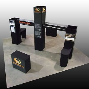 Trade Show Display Booth Island 20x20