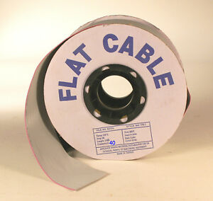 Flat Wire Cable 40 Conductor 100 Roll