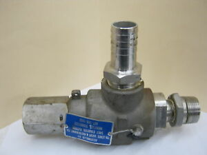 Teledyne 2850 s4 3 4 X 1 Stainless Relief Valve