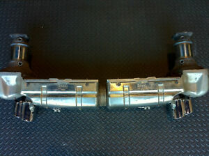 Porsche 996 Turbo Quiet Performance Exhaust W Race Cats