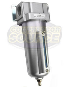 1 2 Compressed Air In Line Moisture Water Filter Trap Air Compressor F704 New