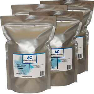 20 Pounds Copper Sulfate Pentahydrate Powder 99 Pure