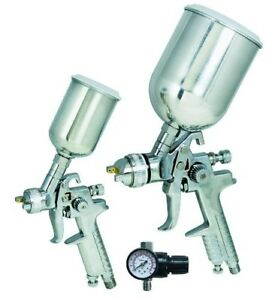 Titan 3 Piece Hvlp Dual Set Up Spray Gun Kit 19219