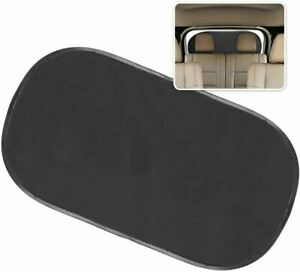 Zone Tech Car Rear Window Sunshade Sun Shade Cover Visor Mesh Shield