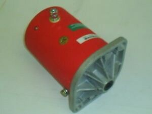 160 124 New Snow Plow Motor For Ametek Johnson Electric Western Plows 12v Cw