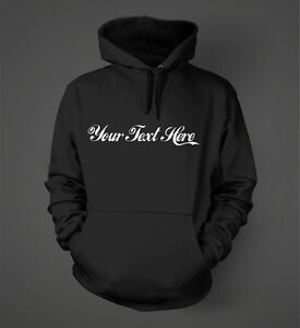 Your Text Here - Coca-Cola - Personalized Hoodie #02