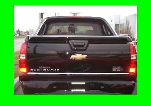 Chevy Avalanche Chrome Tailgate Trim Molding 2007 2010