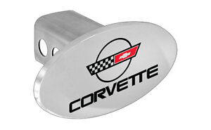 Chevy Trailer Hitch Cover Plug C4 Corvette Design Hitch Cover
