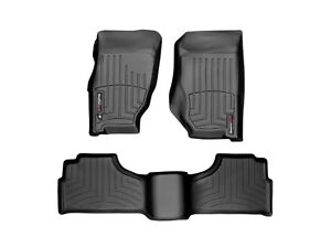 Weathertech Floor Mats Floorliner For Jeep Liberty 2002 2007 Black