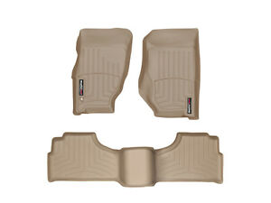 Weathertech Floor Mats Floorliner For Jeep Liberty 2002 2007 Tan
