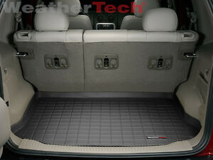 Weathertech Cargo Liner Trunk Mat For Jeep Liberty 2002 2007 Black