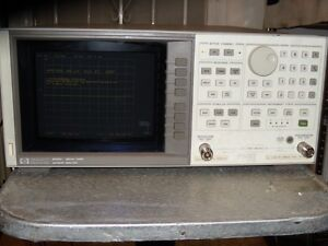 Hp agilent 8752c Network Analyzer 300 Khz To 1 3 Ghz Working Calibrated